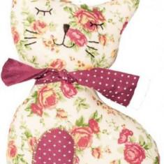Jucarie Textila U-Grow Bow Kitty UG-AF07 - Jucarie carucior copii