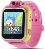 Smartwatch iUni Kid730, 1.54inch, GPS, Bratara silicon (Roz)