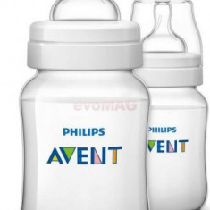 Set de biberoane Phillips Avent SCF563/27, 260 ml, Alb Philips Avent