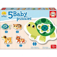 Puzzle Educa Baby Pets 14 Piese