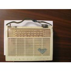 "GE - Radio tranzistor vechi ""SPATZ Baby 6102TR""anii '60 Germania RARITATE"