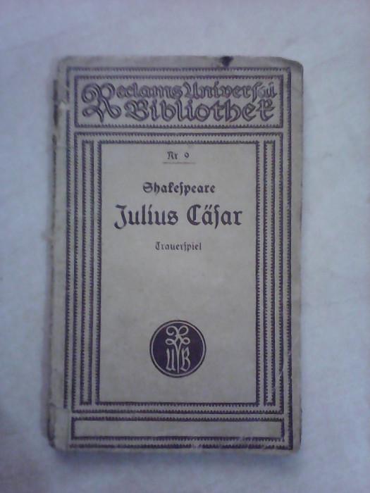 Julius Cafar - W . SHAKESPEARE , an 1930 foto mare
