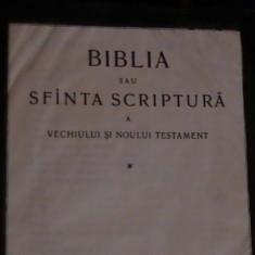 BIBLIA SAU SFINTA SCRIPTURA A VECHIULUI SI NOULUITESTAMENT-1223 PG-, Alta editura