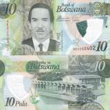 Botswana 10 Pula 2018 Polimer UNC