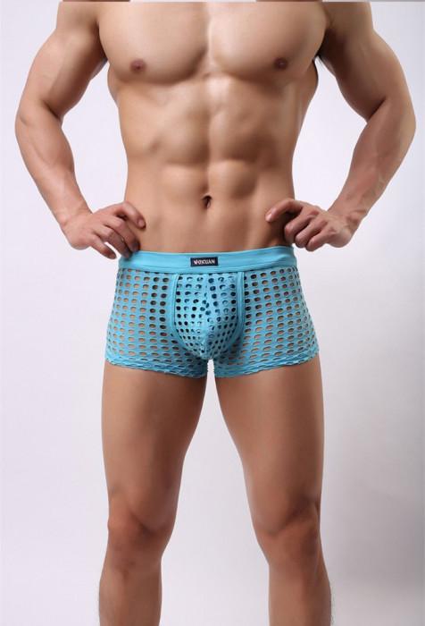Chiloti Chilot Sexy Barbati Push Up Suspensor Jockstrap Fashion Mesh