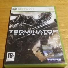 Terminator salvation joc original xbox 360 PAL / by WADDER, Actiune, 16+, Single player
