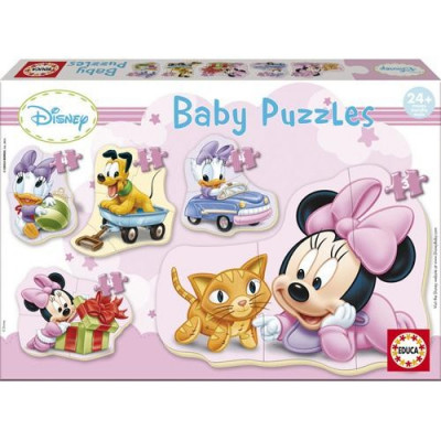Puzzle Baby Minnie Mouse foto