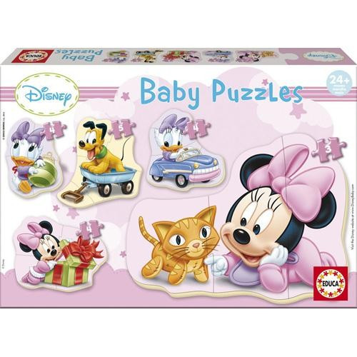 Puzzle Baby Minnie Mouse foto mare