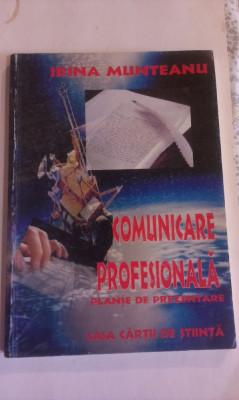 COMUNICARE  PROFESIONALA - PLANSE  DE  PREZENTARE foto