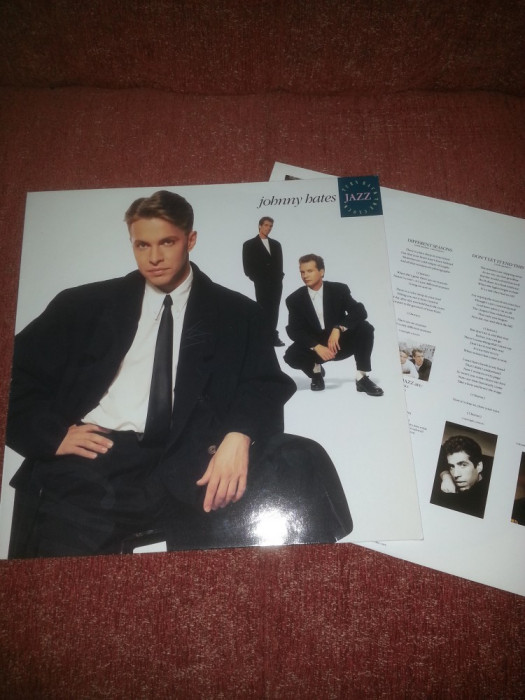 Johnny Hates Jazz –Turn Back The Clock-Virgin 1988 Ger vinil vinyl foto mare