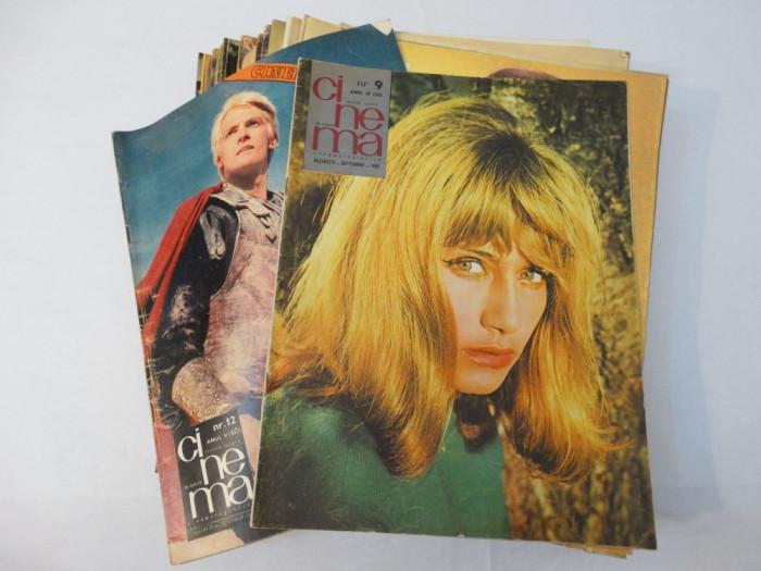 Revista Cinema colectie 48 numere 1965 - 1991 foto mare