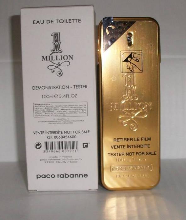 Parfum Tester Paco Rabanne One Million INTENSE