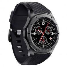 Smartwatch Telefon cu Android iUni DM368, AMOLED 1, 39 inch, WIFI, 3G, GPS, Bluetooth, Monitorizare Puls, Negru + Spinner Cadou