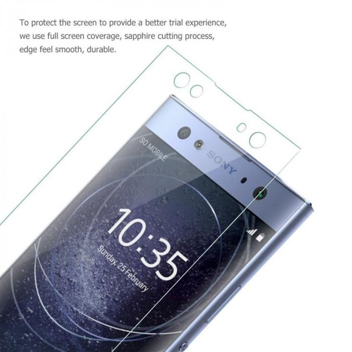 Folie Sticla Securizata / Tempered Glass pentru Sony Xperia XA2 / XA2 Ultra foto mare