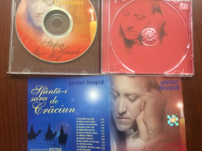 stefan hrusca sfanta i sara de craciun album cd disc muzica folk sarbatori 2001 foto mare