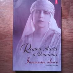 Regina Maria a Romaniei- Insemnari zilnice Vol. VIII - Biografie