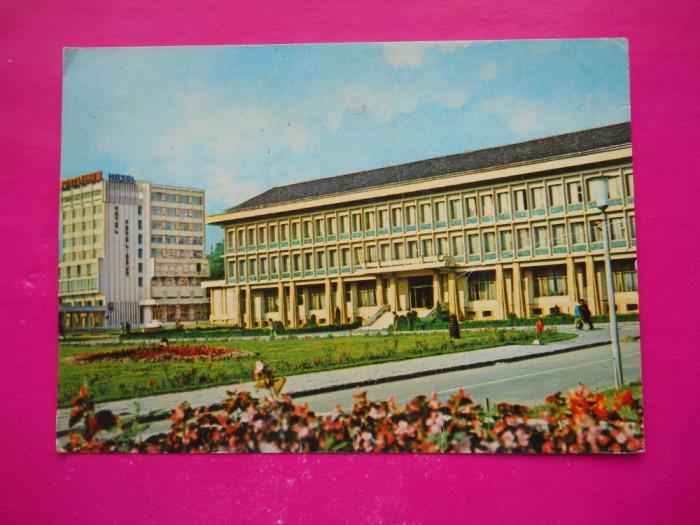 HOPCT 37051  HOTEL POLORISUM - ZALAU IN ANUL 1976-JUD SALAJ  -CIRCULATA foto mare