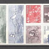 Suedia.1978 200 ani nastere C.von Linne-naturalist,carnet  CS.376, Nestampilat