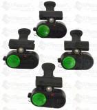 Set 4 Avertizori / Senzori Pescuit Cu Prindere Direct Pe Lanseta