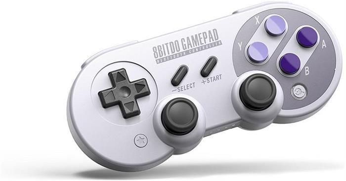Gamepad 8Bitdo Sn30 Pro Bluetooth foto mare