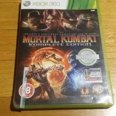 Mortal Kombat Komplete edition joc original xbox 360 PAL / by WADDER - Jocuri Xbox 360, Sporturi, 18+, Multiplayer