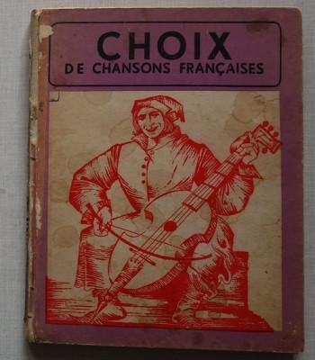 Choix de Chansons Francaises (Selectie de cantece frantuzesti) foto