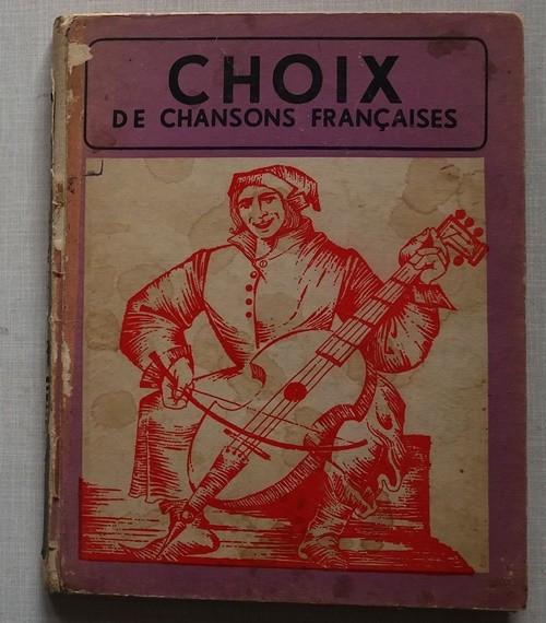 Choix de Chansons Francaises (Selectie de cantece frantuzesti) foto mare