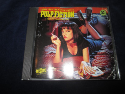 various	- Pulp Fiction : soundtrack _ CD,compilatie _ MCA (Europa,1994) foto