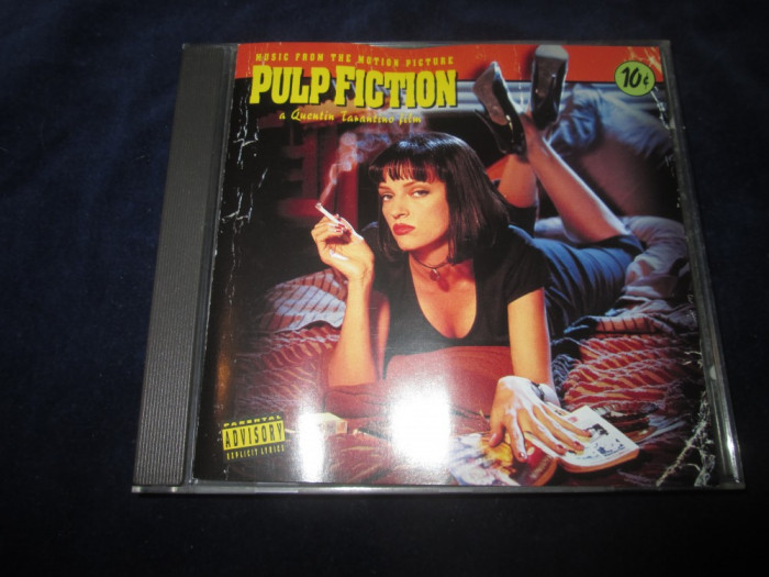 various	- Pulp Fiction : soundtrack _ CD,compilatie _ MCA (Europa,1994) foto mare
