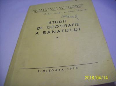 studii de geografie a banatului -an 1970 foto