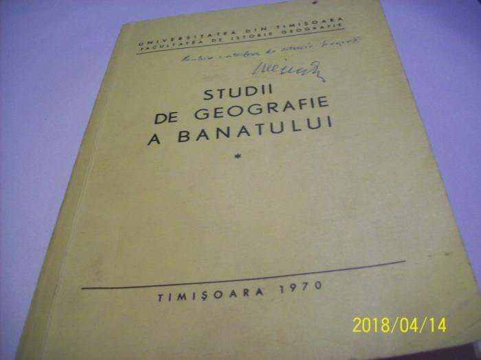 studii de geografie a banatului -an 1970 foto mare