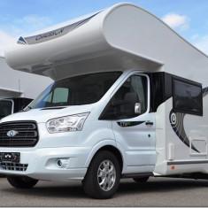 Inchiriere Autorulota Ford 2018 clasa Premium - 6 pasageri + 6 locuri de dormit