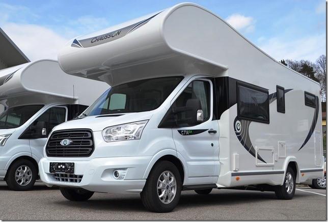 Inchiriere Autorulota Ford 2018 clasa Premium - 6 pasageri + 6 locuri de dormit foto mare