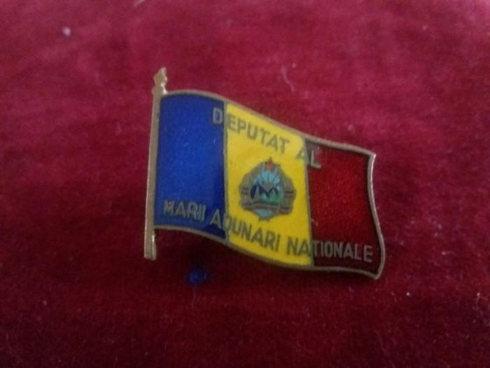Insigna Deputat al Marii Adunari Nationale foto mare