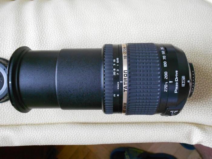 Obiectiv Tamron 18-270 mm f/3.5-6.3 foto mare