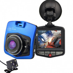 Camera auto Dubla iUni Dash 806, Full HD, 12Mpx, 2.5 Inch, 170 grade, Parking monitor, G senzor, Senzor de miscare, Blue - Camera video auto