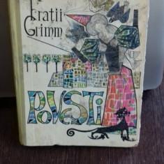 POVESTI - FRATII GRIMM - Carte de povesti