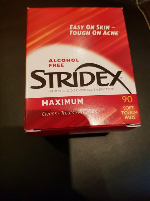 Stridex dischete cu acid salicilic 2% import USA Acnee Pete foto