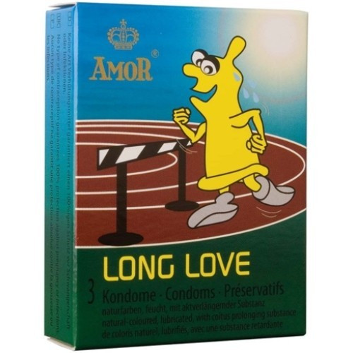 Prezervative intarzierea ejacularii Long Love foto mare