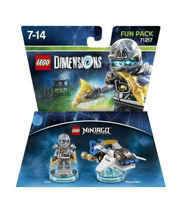 Set Lego Dimensions Fun Pack Ninjago Zane foto