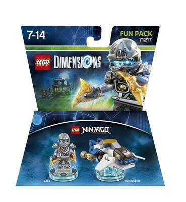 Set Lego Dimensions Fun Pack Ninjago Zane foto mare