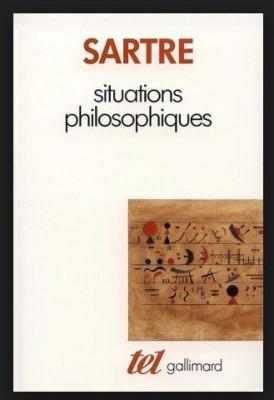 Situations philosophiques / Jean-Paul Sartre foto