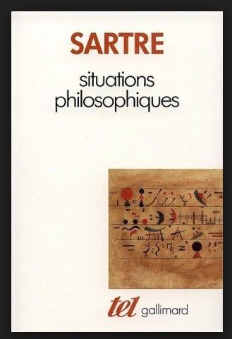 Situations philosophiques / Jean-Paul Sartre foto mare