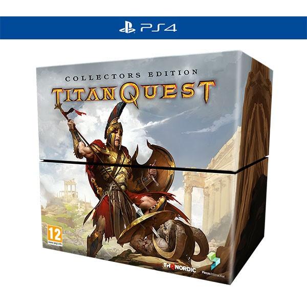 Titan Quest Collector S Edition Ps4 foto mare