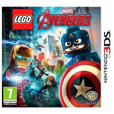 Lego Marvel Avengers Nintendo 3Ds foto
