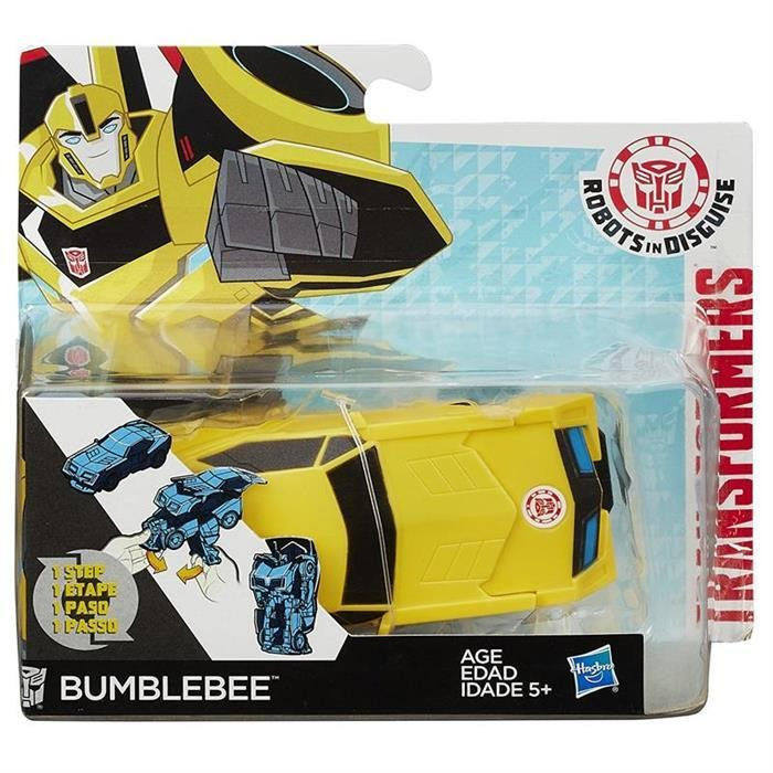 Jucarie Transformers Robots In Disguise Rid One Step Changers Vehicle Bumblebee Yellow foto mare
