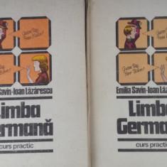 Savin / Lazarescu - Limba Germana - curs practic - 2 volume, 1982 - Curs Limba Germana