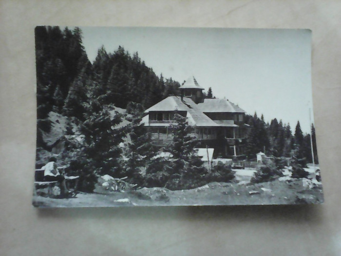 C.P - Masivul Rarau , Cabana Rarau , circulata 1965 foto mare