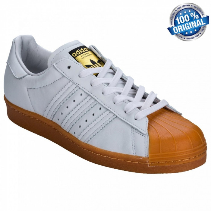 ADIDASI ORIGINALI 100% Adidas Superstar 80' Leather nr 42 2/3 foto mare