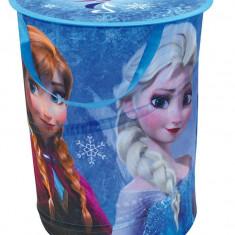 Sac pentru depozitare jucarii Disney Frozen, Textil, Multicolor